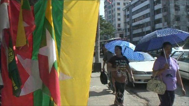 People in Burma