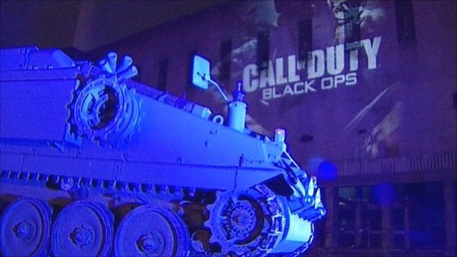 Launch of Call of Duty: Black Ops