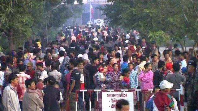 People at Thai/Burma border