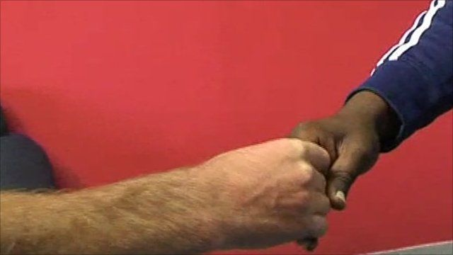 The interpretation of handshakes
