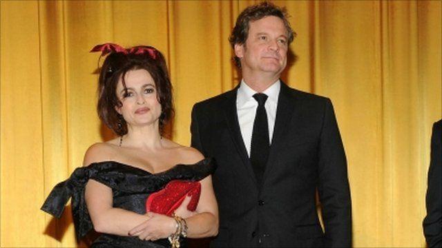 Colin Firth and Helena Bonham Carter