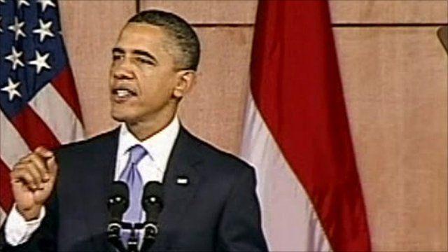 Obama speaks to students