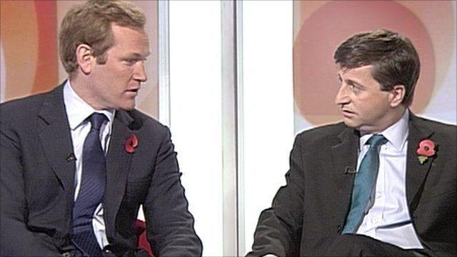 Jeremy Brown and Douglas Alexander