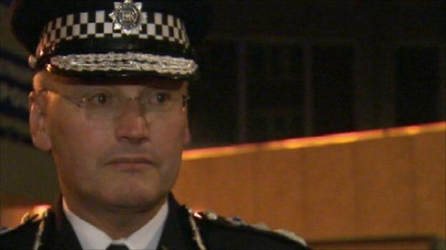 Metropolitan Police Commissioner, Sir Paul Stephenson