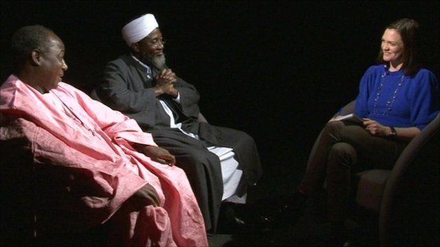 Pastor James Wuye and Imam Muhammad Ashafa
