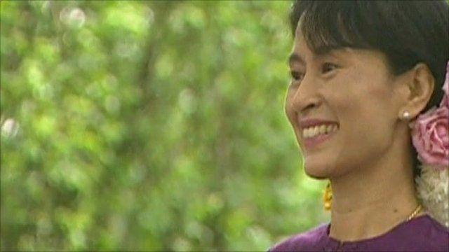 Aung San Suu Kyi - file photo
