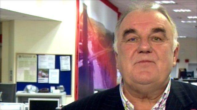 Pontins chairman Graham Parr