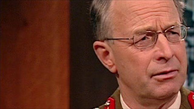 General Sir David Richards speaks to Andrew Marr