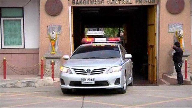Bout taken out of Bangkok prison