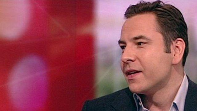 David Walliams on BBC Breakfast