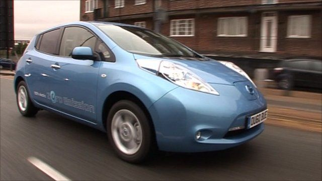 The Nissan Leaf