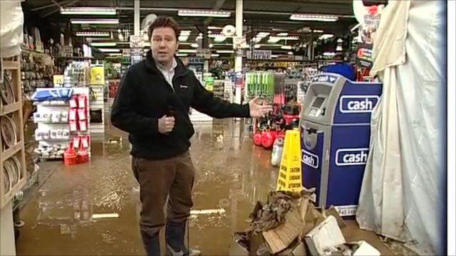 Jon Kay in Cornwall Market World