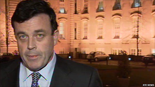Ireland's Finance Minister Brian Lenihan