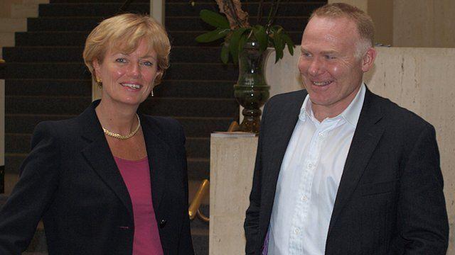 Susie Lonie and Nick Hughes