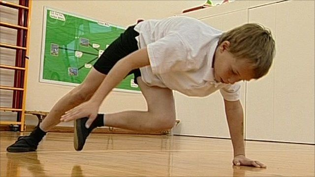 Pupil exercising