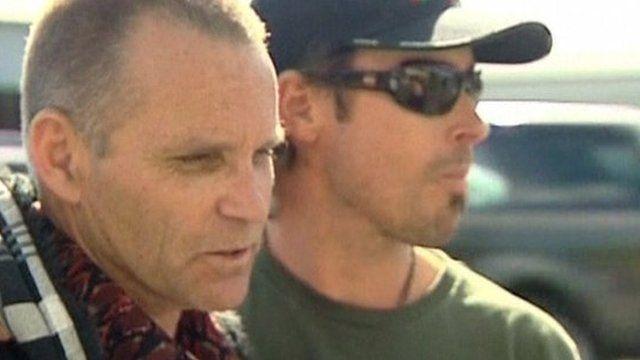 Lawrence Drew (left)