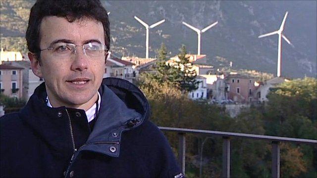 Mayor Riziero Zaccagnini