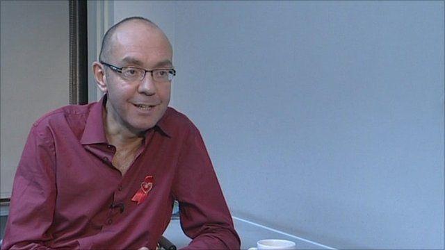 HIV patient Paul Ward