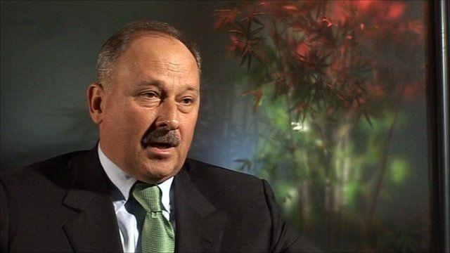 VEB chairman Vladimir Dmitriev