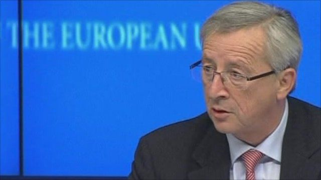 Eurogroup chairman Jean-Claude Juncker