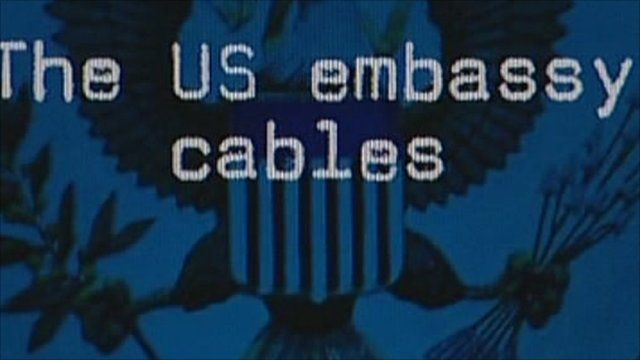 US embassy cables web page