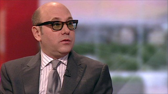 Willie Garson on BBC Breakfast