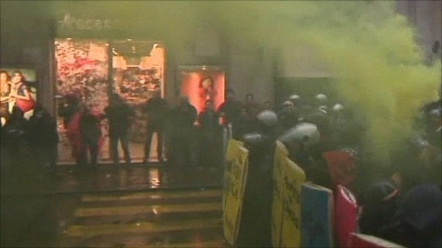 Protests in Italy
