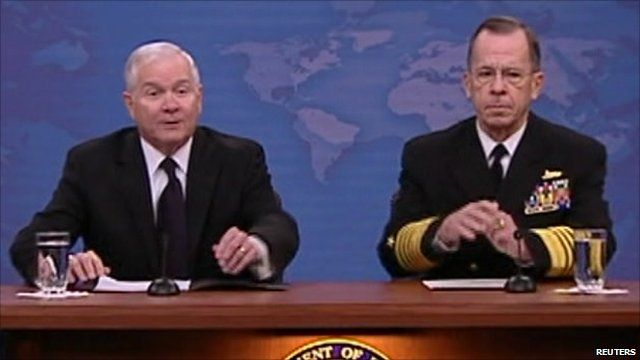 Defence Secretary Robert Gates and Admiral Mike Mullen