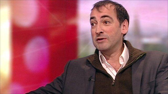 Alistair McGowan on BBC Breakfast