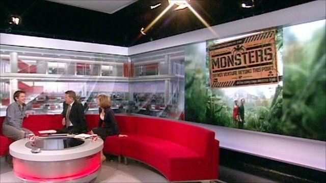 Monsters on BBC Breakfast