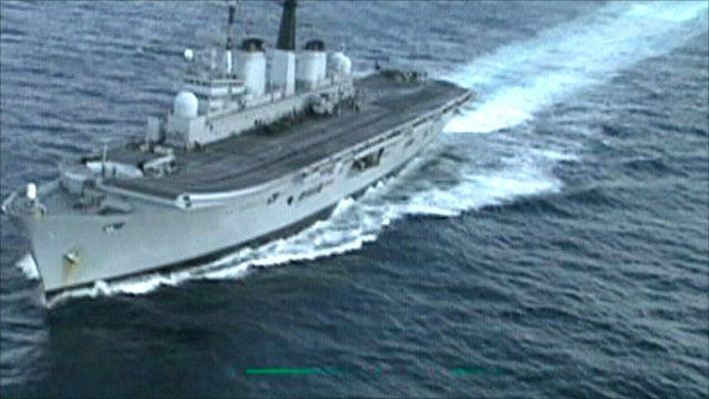 Royal Navy's Ark Royal