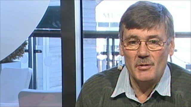 Former British Defence Secretary Bob Ainsworth