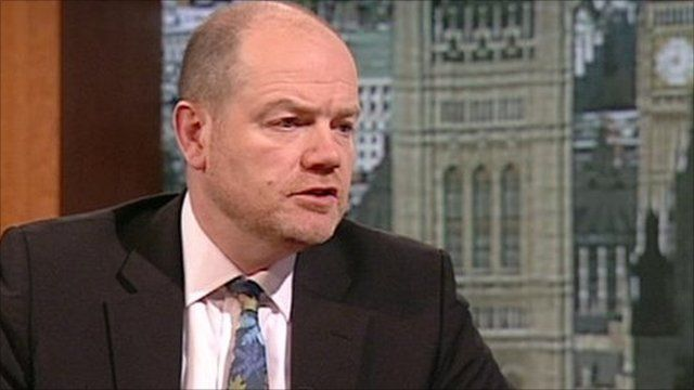 Mark Thompson, Director General of the BBC on the Andrew Marr Show
