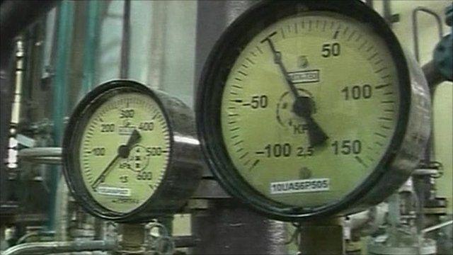 Dials at Iranian facility