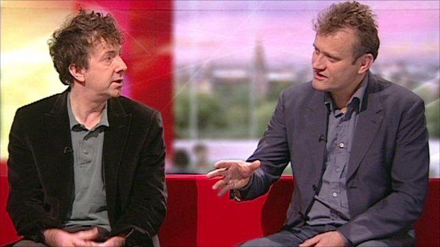 Steve Punt and Hugh Dennis on BBC Breakfast