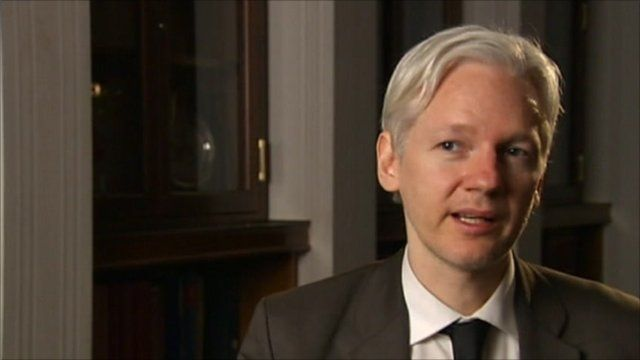 Colleagues of Julian Assange deny he is in hiding