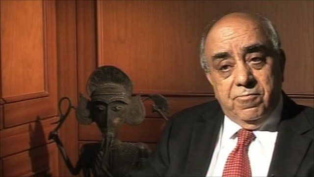 Arun Nanda Chairman of the Indo-French Chamber of Commerce