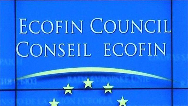 Ecofin Council sign