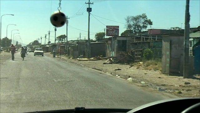 Gugulethu township, SA, where Anni Dewani, 28, was killed