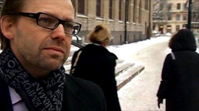 Bjorn Hurtig, lawyer for Julian Assange