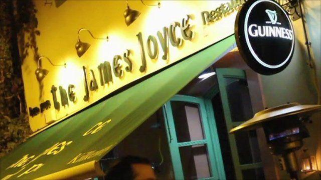 Irish pub in Athens