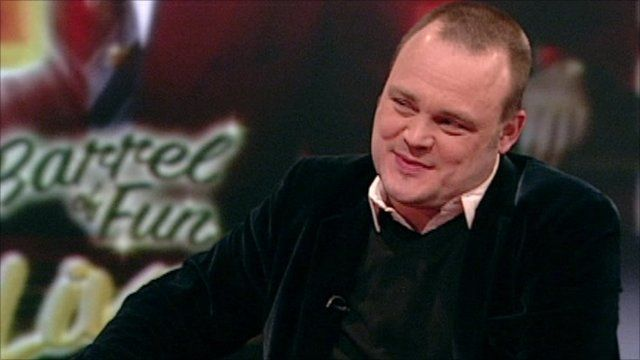 Al Murray on BBC Breakfast