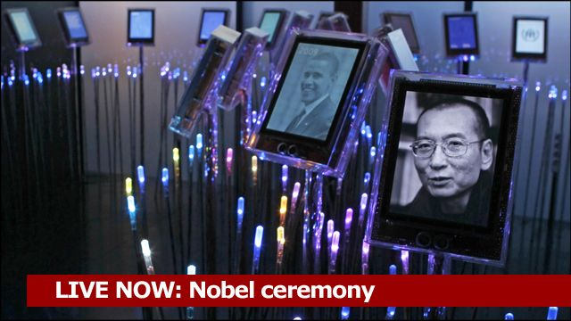 Nobel Ceremony: Courtesy Nobelprize.org