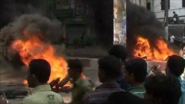 Bangladesh street violence