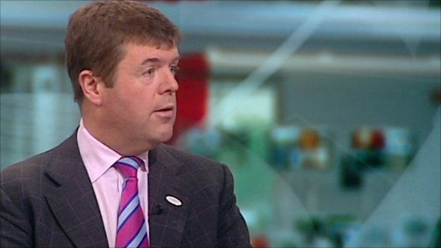 Liberal Democrat Care Services Minister, Paul Burstow