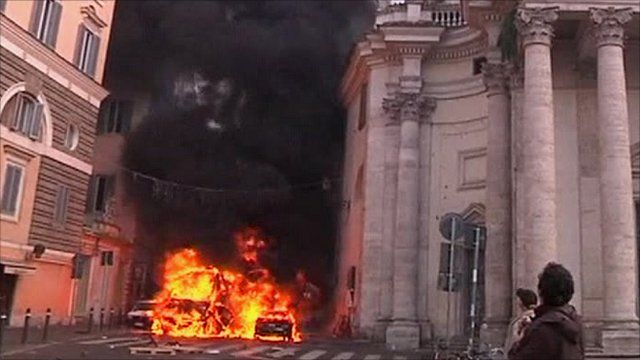 Riots in Rome