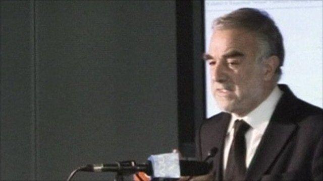 ICC prosecutor Luis Moreno Ocampo