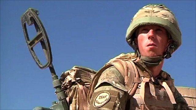 Ian Baird on patrol