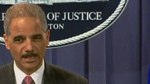 US Attorney General Eric Holder said BP was liable under the Oil Pollution Act