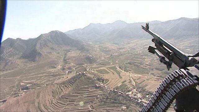Tribal area near Afghan border